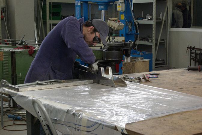Sermar lavorazioni inox sarsina nautica arredo industria for Industria italiana arredi